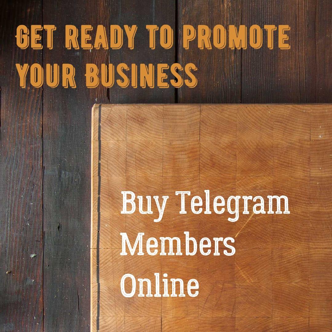 Telegram Channel Members Free - Buy Telegram Members