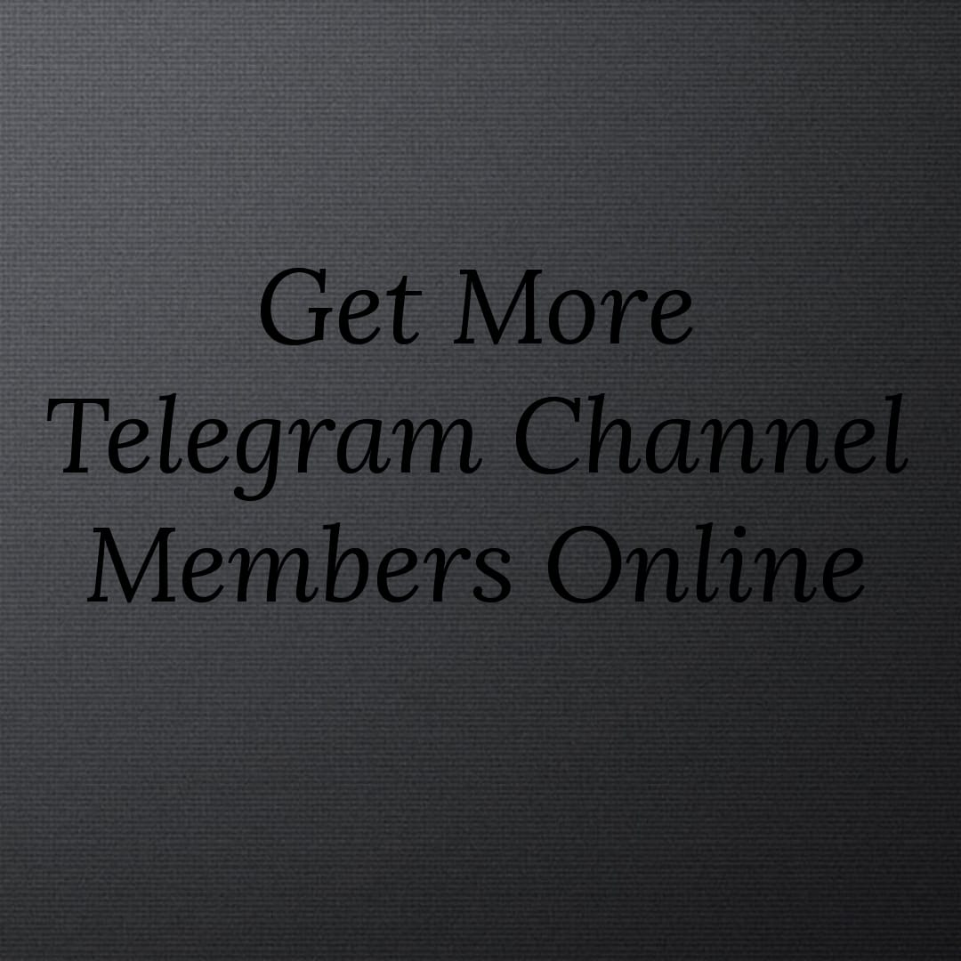How to see telegram channel members