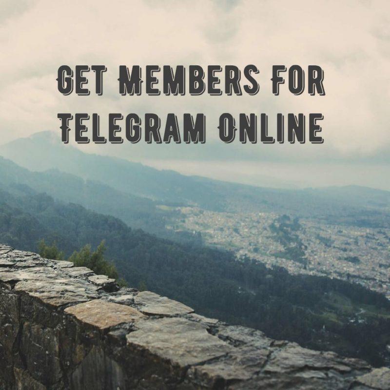 Get Members For Telegram Online - Buy Telegram Members