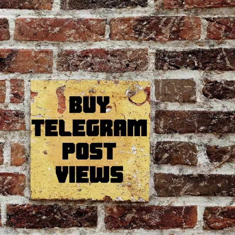 Get More Telegram Post Views Online - Buy Telegram Members